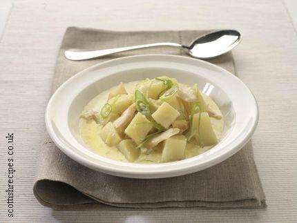 Haddock Potato Leek Soup