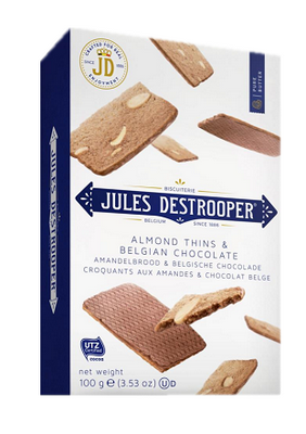 Jules Destrooper Almond Thins & Belgian Chocolates