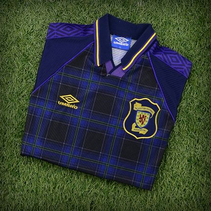 c6425b8bb36 For example, the strip below is the FIFA World Cup Mexico 1986 Scottish  Football Shirt