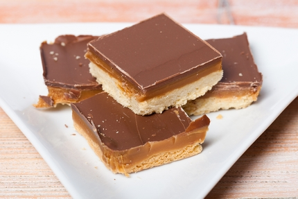 Toffee Chocolate Shortbread