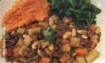 Vegetarian Mince and Tatties Recipe