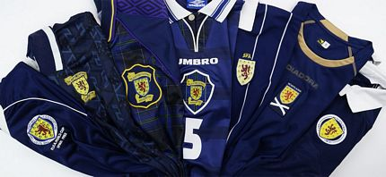 c408beae1fb Scotland Retro Tops Old Vintage Soccer Football Shirts Classic Kits ...