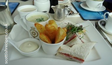 lunch platter royal deck tea room her majestys yacht britannia